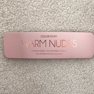 Color Story Makeup Warm Nudes Eyeshadow Palette Poshmark